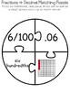 Place Value Puzzles: Converting Fractions, Decimals, & Percents