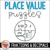 Place Value Puzzles: Converting Fractions & Decimals