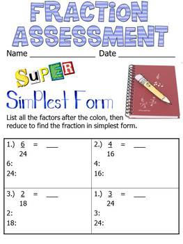 Fraction & Decimal Review Packet