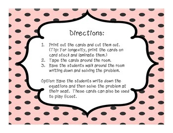Fraction & Decimal Scavenger Hunt Cards- Valentine's Theme