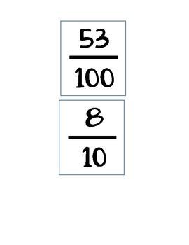 Fraction / Decimal Sort