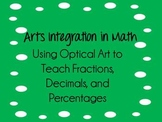 Fraction, Decimal, and Percent Arts Integrated Common Core Lesson