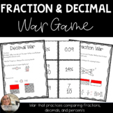 Fraction, Decimal, and Percent War