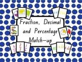 Fraction, Decimal and Percentage Flash Cards - 376 Cards!