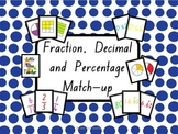 Fraction, Decimal and Percentage Flash Cards - 376 Cards!