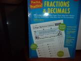 Fraction & Decimals  ISBN#0-439-52962-X
