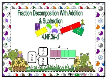 Fraction Decomposition With Addition and Subtraction