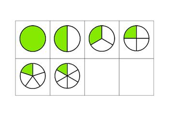 Fraction Dice Worksheet