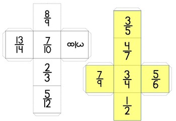 Fraction Dice for Beginners