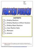 Fraction Division (Dividing Fractions)