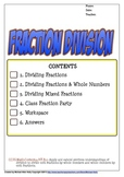 Fraction Division (Dividing Fractions)