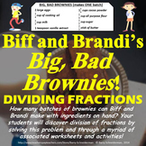 Dividing Fractions Unit Using Real World Problems, Guided Notes, Worksheets