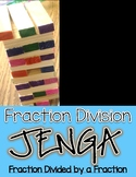 Fraction Division Jenga Math Game:Fraction / by a Fraction (Keep,Change,Flip)