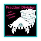 Fraction Division Maze Activity