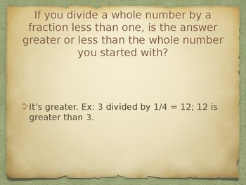 Fraction Division Review Powerpoint