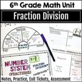 Fraction Division Unit for Grade 6