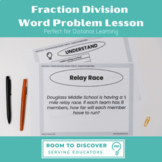Fraction Division Word Problem Digital Slides Activity (6.NS.A.1)