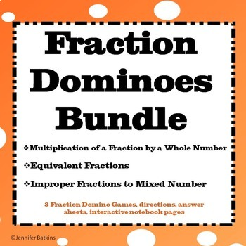 Fraction Domino Bundle