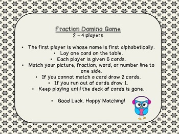 Fraction Domino Game