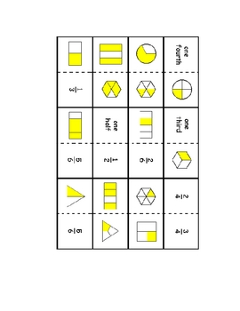 Fraction Dominoes