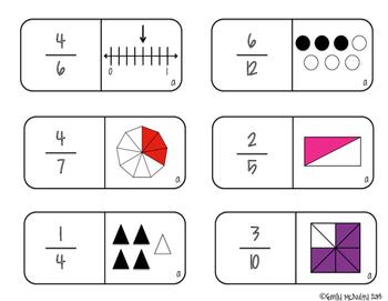 Fraction Dominoes