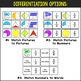 Differentiated Fraction Dominoes