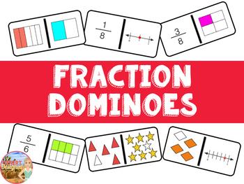 Fraction Dominoes Common Core