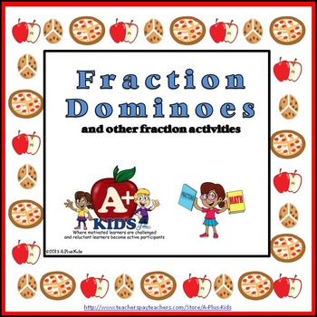 Fraction Dominoes and Other Fraction Activities