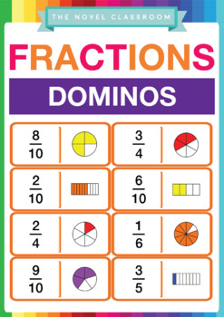Fraction Dominos -  Math Activity