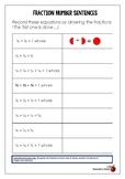 Fraction Equation Worksheet