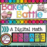 Fraction Escape Room-Math Review Activity (Great for Test Prep!)