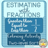 Fraction Estimation Activities (Comparisons to One-half)