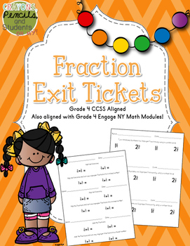 Fraction Exit Tickets