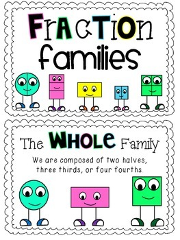 Fraction Families Booklet