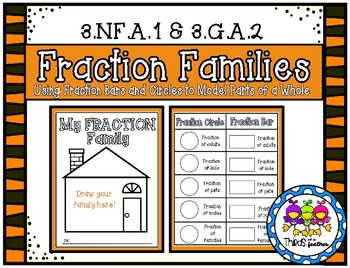 Fraction Families (Modeling Parts of a Whole)