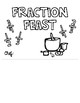 Fraction Feast Project (Flipbook, Assignment, and Rubric)