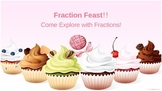 Fraction Feast PowerPoint- 4th and 5th grade Common Core