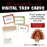Fraction Feast Task Card Bundle | DIGITAL & PRINT  | 5.NF.