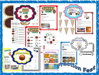 Fraction Fest: Common Core Aligned Hands-on Activities