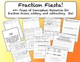 Fraction Fiesta!  Bundle Encourages Conceptual Understanding of Fractions