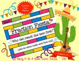 Fraction Fiesta Game {Grades 4 - 6}  Common Core Aligned