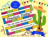 Fraction Fiesta Game {Grades 7 & 8}  Common Core Aligned