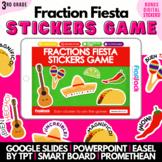 Fraction Fiesta SMART BOARD Game - Common Core Aligned