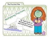 Fractions - Multiplying Fractions Task Cards
