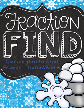 Fraction Find Comparing and Equivalent Fractions