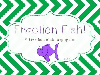 Fraction Fish: A matching fractions game