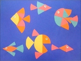 Fraction Fish Collage {MrsBrown.Art}