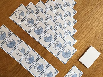 Fraction Fishing & Solitaire | card game of equivalent fractions