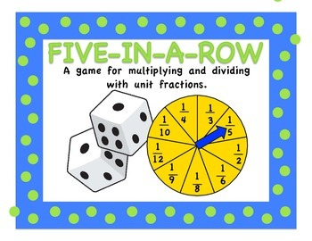 Fraction Five In A Row