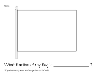 Fraction Flag Activity